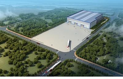 鉴衡认证开展91米风电叶片全尺寸测试