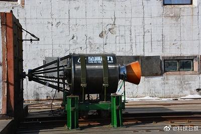 航天民企星河动力商业运载火箭三级发动机热试车成功
