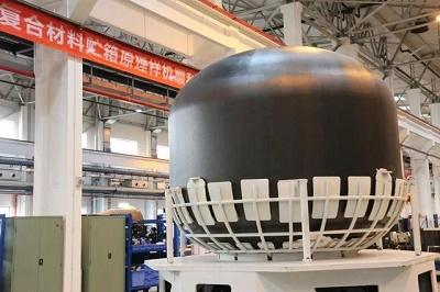 重大突破,中国首个3.35米直径复合材料液氧贮箱诞生